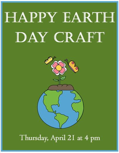 Happy Earth Day Craft 2016