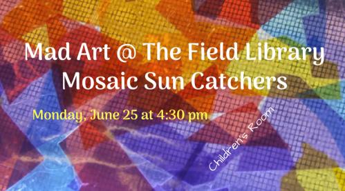 Mad ArtMosaic Sun Catchers
