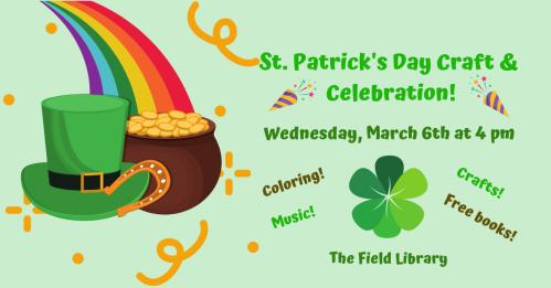 St. Patrick's Day Craft & Celebration Facebook Banner