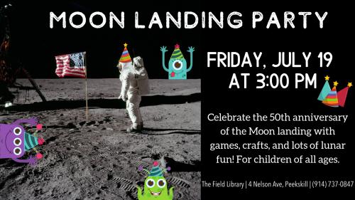 Moon Landing Party 2019