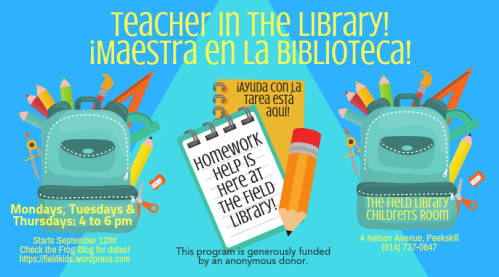 Teacher in the Library 2019-2