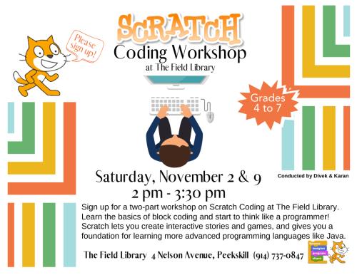 REV Scratch Coding Workshop November 2019-2