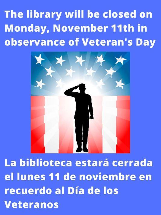 Veteran's Day Flyer