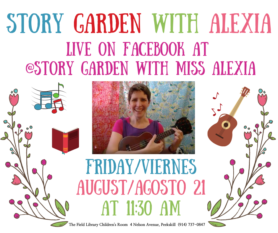 FB Live Story Garden with Alexia 2020